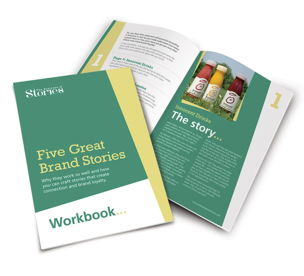 The Business of Stories FREE workbook